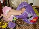 Папа с сынулечкой играет, пирамидку собирает, домик строит и читает, ну а Мама —- Отдыхает…