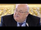 Александр Калягин на заседании по культуре и искусству при президенте РФ