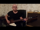 агатакристи сердцебиение бас гитара кавер gibson @vrsamoylov