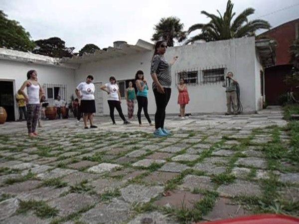 Taller de Danza Candombe. Profe Maria Celia. 2