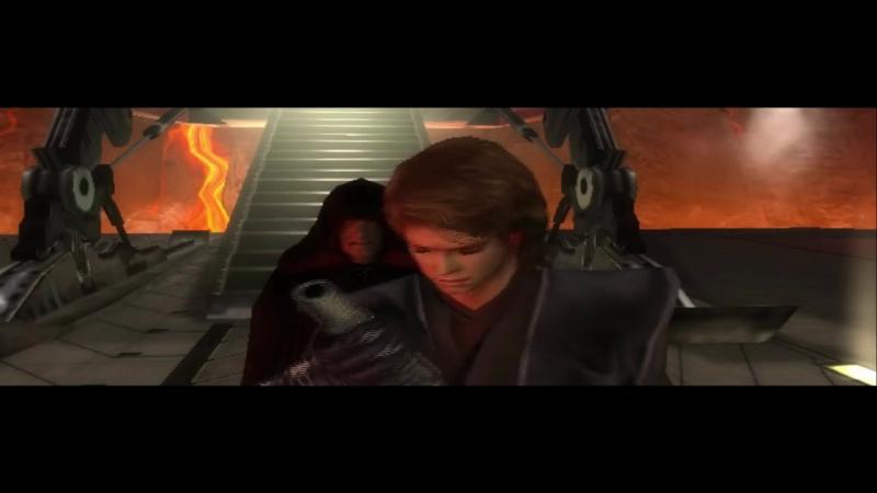 Revenge of the Sith PS2 Alternate Ending Anakin Kills Obi Wan online video