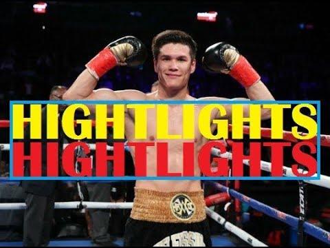 HIGHTLIGHTS! Daniyar Yeleussinov vs Noah Kidd / Данияр Елеусинов против Ноа Кидда