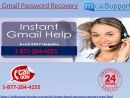 Irritated of specialized obstructions avail Gmail Password recovery 1 877 204 4255