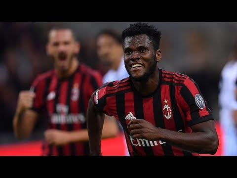 Frank Kessie(Atalanta,AC Milan and Côte d'Ivoire) Protective actions Skills Goals 2018