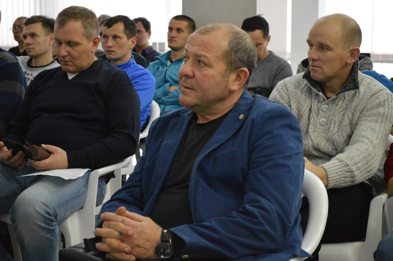 Семинар на тему «Актуальные вопросы системы подготовки спортивного резерва по футболу»