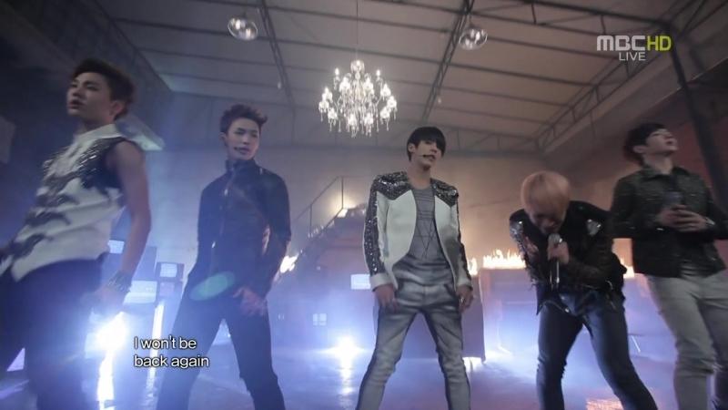 BTOB - Insane (Music Core) 24.03.2012