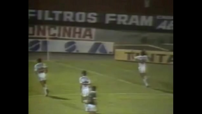 SPFC 3x3 Guarani Libertadores 87