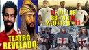 TRETA MOHAMED SALAH REPRESENTA SALADINO E ROMA OS CRUZADOS Champions League DESTAQUES
