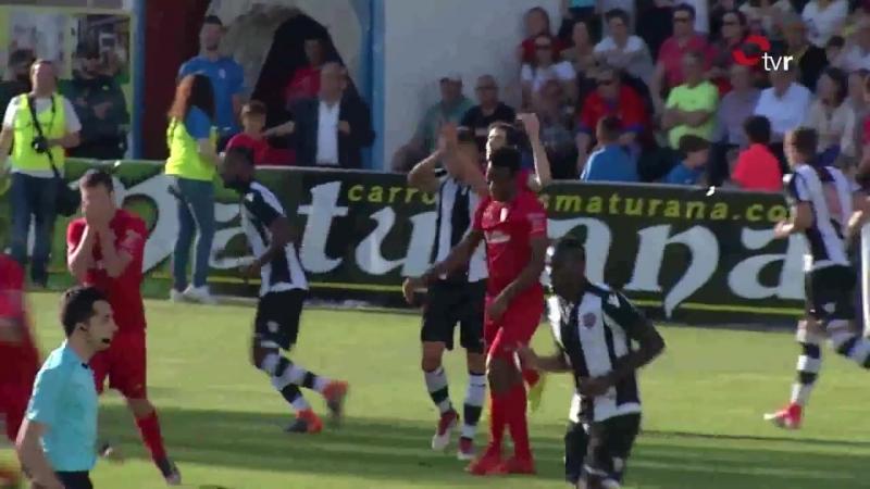 CD Калаорра - Атлетико Леванте UD, 1-2, Терсера 2017-2018, чемпионский плей-офф, 1 матч