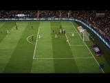 Классный гол в FIFA18