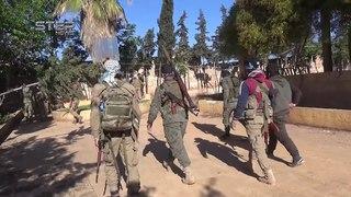 جانب من الاشتباكات والتقدم لجبهة تحرير سو&#15