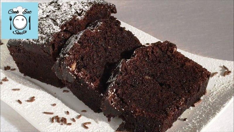 Постный шоколадный кекс. Простой рецепт.