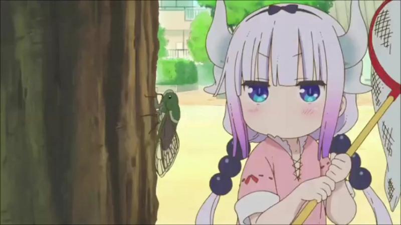 горничная дракон Госпожи Кабаяши