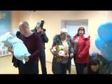 Выписка Ярослава из родильного дома , 7 января 2018 год город Тюмень.