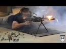 700 выстрелов из пулемета без остановки