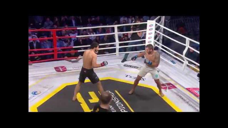 GTC 01. 93 кг: Рашид Юсупов (Махачкала, Горец) - Cтепан Бекавач (Хорватия)