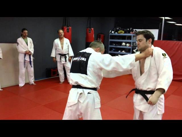 Grip Fighting-Attacking a Stiff Arm