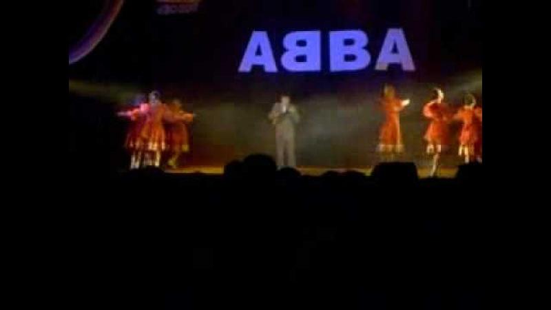 АББА на балалайке в исполнении Кузнецова Антона