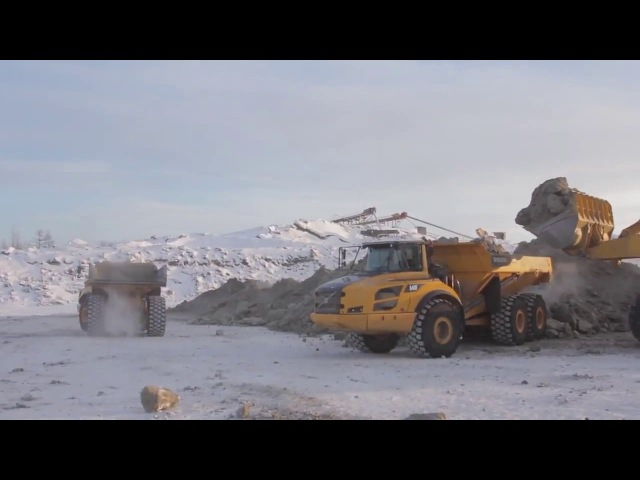 Работа на добыче золота в артели Кривбасс