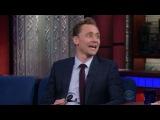 "тσм нι∂∂ℓєѕтση & тσм нαя∂у on Instagram: ""Tom Hiddleston playing the spoons on The Late Show with Stephen Colbert - - - - #TomHiddleston"""