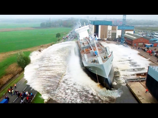 27 ASTONISHING Ship Launch Videos! Awesome Compilation!