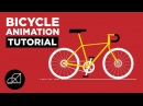 Motion Graphics Bicycle Gears Animation in After Effects Tutorial