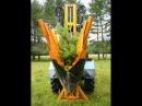 Пересадчик деревьев Крона на трактор МТЗ-82.1