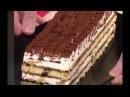 Домашний торт-мороженое в картонке от молока
