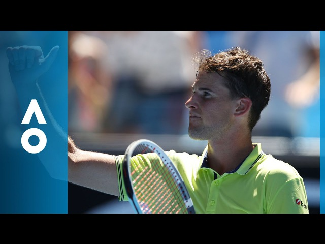 Dominic Thiem v Denis Kudla match highlights (2R) | Australian Open 2018