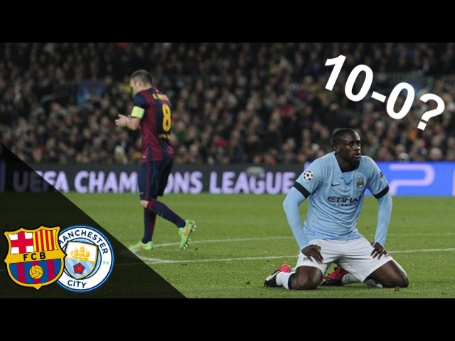 The Day FC Barcelona Could Beat Manchester City 10-0