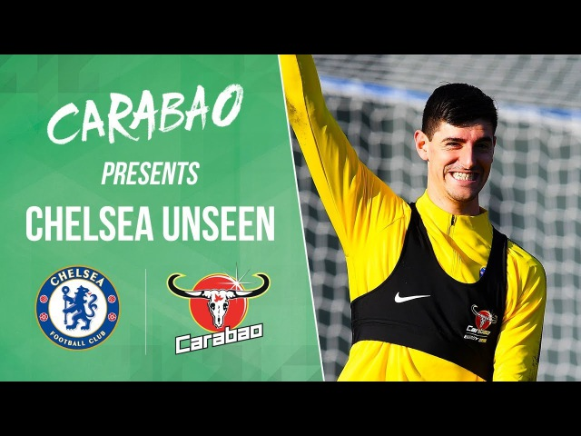 Courtois Caballero Vs Shooting Machine! Who Wins | Chelsea Unseen