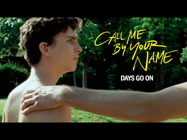 Elio Oliver | Call Me By Your Name | Days Go On (SPOILERS)