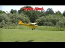 RC Monkey Business Crashes Rockets on Wings Close Action Epic Fails PART 2 of 2