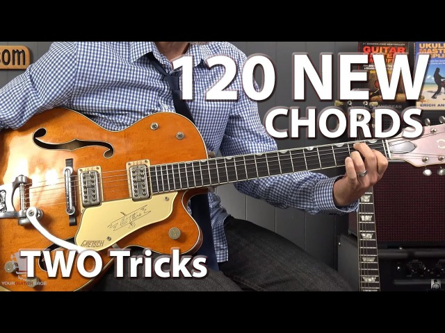 Learn 120 New Chords with These TWO Tricks