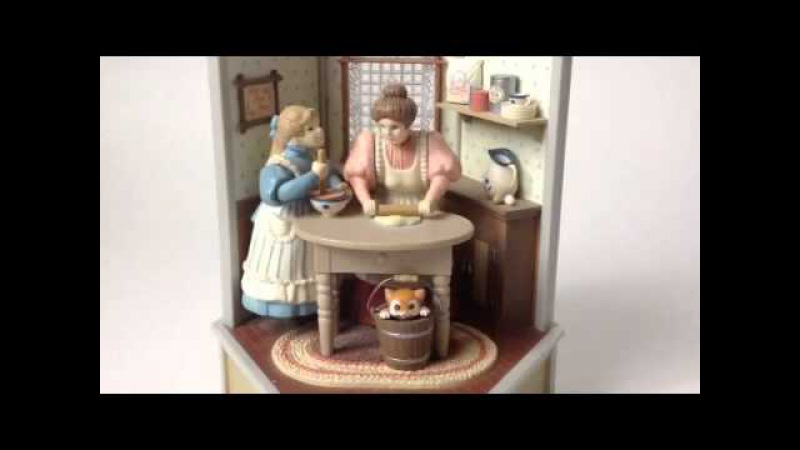 1985 and Enesco animated musical mother and daughter baking