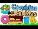 Food and drinks in Spanish Learn Spanish for beginners and kids comidas y bebidas