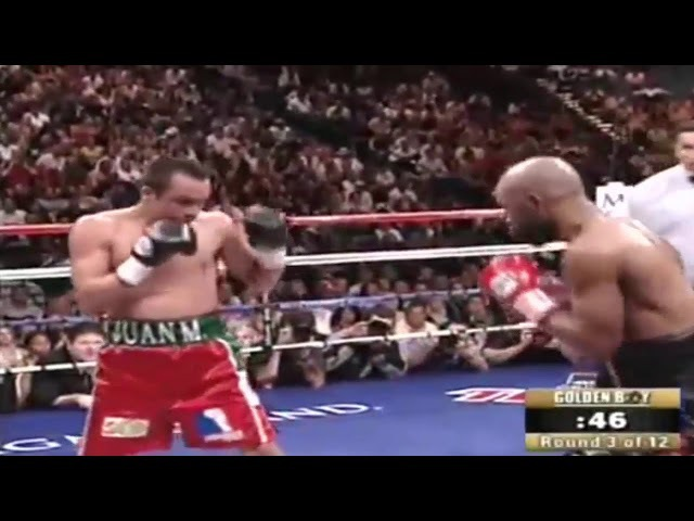 Juan Manuel Marquez vs Joel Casamayor(2008 09 13). Golden Boy
