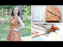 1950's Monkey Dress ☆ Project Vlog and Pattern Review Vouge V8789