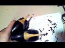 Реставрация ободранных каблуков