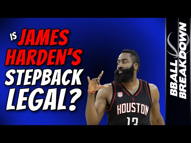 Is James Harden's Stepback LEGAL? YES.