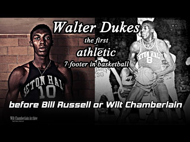 WCA's footage of Walter Dukes - First Athletic 7 footer in Basketball