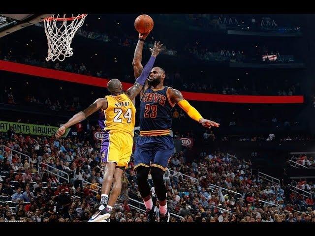 Poster Dunks On Kobe Bryant (BlocksCrossovers)
