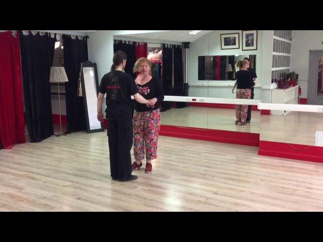 Tango Postura Abrazo Elvira Malishevskaya