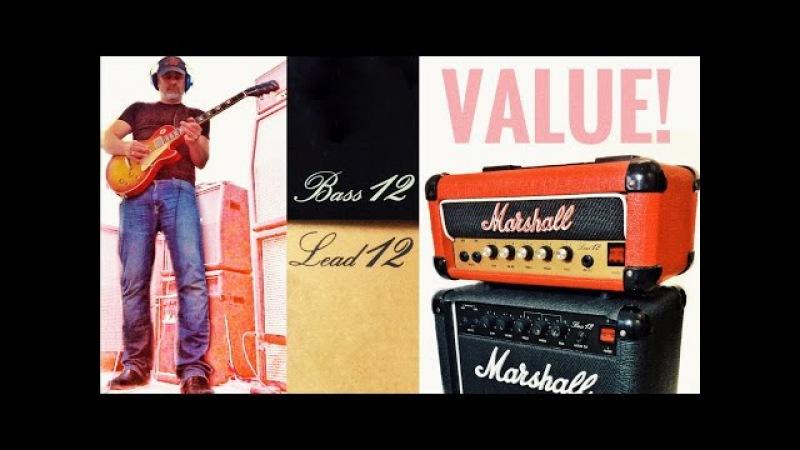 Marshall LEAD 12 Vs BASS 12 - Cheap JCM800 or Cheap PLEXI?