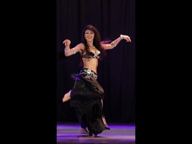 Цикл уроков по восточному танцу для начинающих. УРОК 7