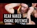 Rear Naked Choke Defense