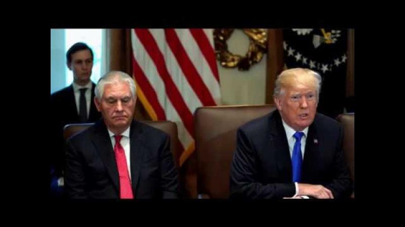 Trump - Tillerson May beschuldigt Russland Erdogan Opfer Afghane Moscheen im Brennpunkt
