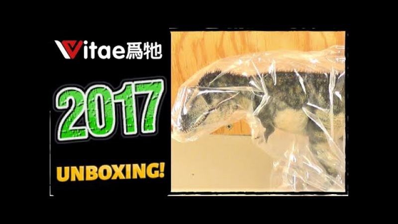 VITAE    NEW Dinosaur Company!    December 2017 Unboxing