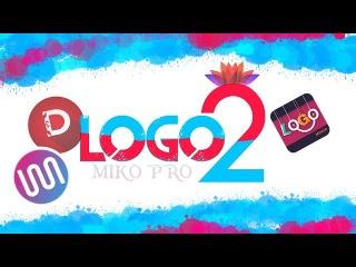 LOGO 2 - Logo Maker app, Logo Generator app|Қазақша Фотошоп Picsart. Урок фотошоп Picsart. Picsart t