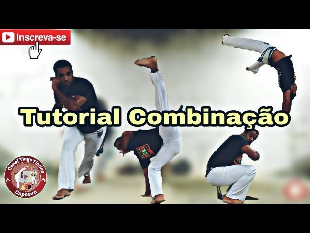 Tutorial Combinação ( Meia lua / au navalha / au de coluna ) Capoeira